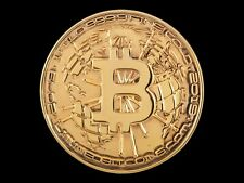 Bitcoin Commemorative Medal 1 KILO Pure Gold 999.9