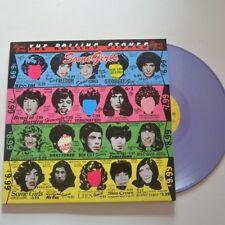 ROLLING STONES - SOME GIRLS - 2011 WITHDRAWN LP PURPLE VINYL