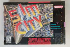 Simcity Sealed - SNES Super Nintendo Game Sim City
