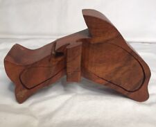Dolphin Figuring Box Hand Carved From Exotic Wood with pull out