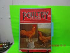 Poultry Tribune April 1930  Red Leghorn cover