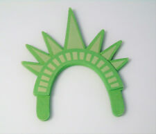 American Girl Doll NY STATUE OF LIBERTY CROWN Headband For COCONUT Westie Dog