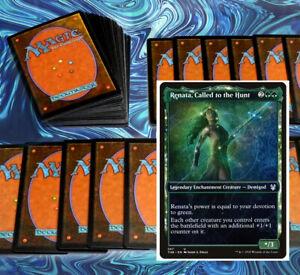 mtg GREEN RENATA COMMANDER EDH DECK Magic the Gathering rare cards yeva yorvo