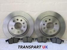 SAAB 9-3 2.0 t Aero Saloon 207 drivetec Front brake discs 302 mm Vented