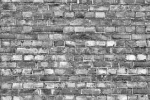 16 SHEETS EMBOSSED textured BRICK wall paper 20x28cm 1/12 SCALE GREY BRICK