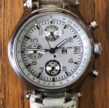 Michael Kors Reloj Acero Inoxidable 340603 100M MK-5012 Batería Nueva Leer