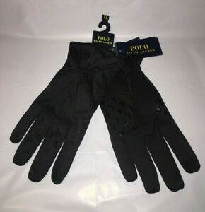 Polo Ralph Lauren Black Touch Gloves Thinsulate Men's X-Large