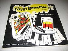 "THE GREAT BARRELHOUSE PIANO ON THE NICKELODEON 10"" LP VG+ Cook 1035 1953"