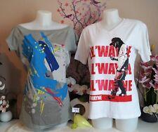 "Lot vêtements occasion femme - Tee-shirts "" Nike - Cabaneli "" - T : 40 / 42"