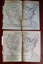 2 1877 Barometric Variations US Weather Maps