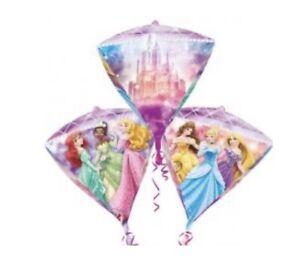 Disney Princess Diamondz Foil Balloon Disney Birthday Party Decoration. Diamond