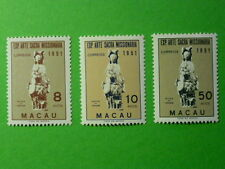 LOT 5277 TIMBRES STAMP ART MISSIONNAIRE MACAO MACAU ANNEE 1953