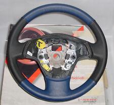 Nuevo ORIG. seat sport volante de cuero negro/azul para seat ibiza + cordoba 6l