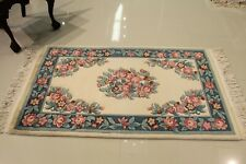 Super Fine Vintage Chinese Aubusson  Rug 3'.X5' 100% Wool 75% OFF GREAT PRICE!!!