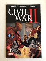 Civil War ll  #1 NM Bendis•Marquez•Ponsor   Marvel Comics