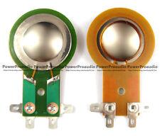 2pcs Mackie Diaphragm for THUMP TH15A & 12A, DC10/1501- 4 Titanium Dome 4Ohm