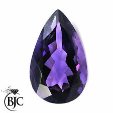 Pear Natural Loose Amethysts
