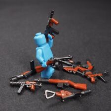 10 Custom Guns Lot WW2 Machine Rifle Military Toy Weapons for LEGO Minifigures!