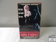 China O'Brien 2 (VHS, 1992) Cynthia Rothrock Richard Norton Keith Cook