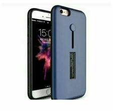 Vivo Y71 Mobile Phone Shell Case With Ring And Stand - BLUE