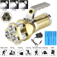 90000LM 3T6 Spotlight LED 3Modes 18650 Led Flashlight Super Bright Torch Light