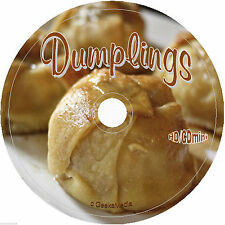 Dumpling Recipes CD make empanada turnover ravioli kitchen fruit meat cookbook