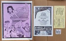 Once Upon a Mattress, Kenley Players Souvenir Program, Advert, ticket 1973