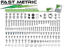 KAWASAKI BOLT Kit KX KXF 60 85 100 125 250 250F 450 500 KXF250 KXF450 156pc