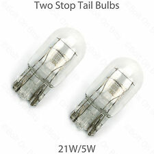 2 Stop/Tail Bulbs fit Toyota Land Cruiser 21/5w Capless Brake/Tailight/Wedge
