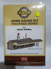 Ratio 504 Station Building Kit OO scale