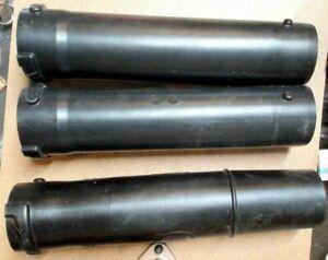 2 Genuine Husqvarna Blower Tubes 577079301 and 1 End Tube 504064601