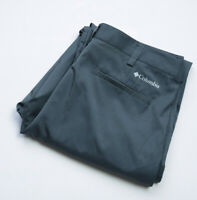 Columbia GOLF Stableford Pant Trousers mens size W34 L32 L Large grey OMNI Wick