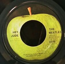 Beatles    Apple 2276      HEY JUDE      (GREAT ROCK N ROLL 45) PLAYS GREAT!