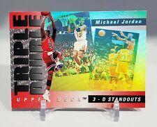 1993-94 Upper Deck Michael Jordan Triple Double 3-D Holo #TD2 Chicago Bulls
