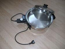 Casserole électrique en acier chirurgical - à l'huile chauffée - excellent état