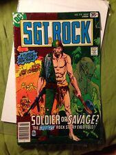 DC Comics Sgt Sergeant Rock Soldier or Savage Comic July 1978 #318 27 30600