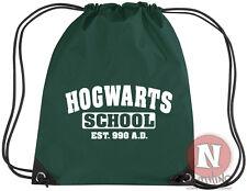 Hogwarts School kit bag drawstring gym PE school - Harry Potter Wizards
