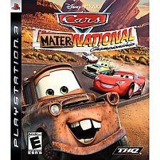 *NEW* Cars: Mater-National Championship (PS3, Playstation 3, 2007) Disney Pixar