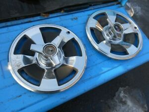 66 1966 Chevrolet Corvette (2) 15 inch spinner wheel covers original GM