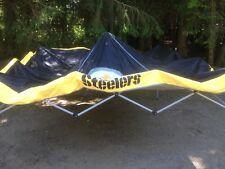 Pittsburgh Steelers  9 X 9 NFL Pop Up Canopy -  Tailgate Shelter Tent