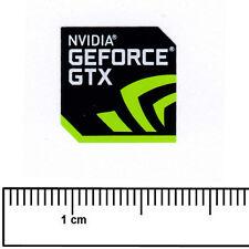 Nvidia GeForce GTX Vinilo Pegatina Insignia del procesador de computadora portátil 18x18mm