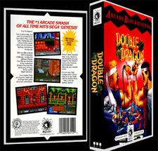 Double Dragon - Sega Genesis Reproduction Art Case/Box No Game.