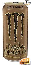 Java Monster Loca Moca 15 Oz. Energy Drink Non-Carbonated Brewed Coffee 12 Packs