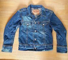 ## Levis Type 1 Jacke Jeansjacke Gr. S Vintage KULT Waschung Unisex ##
