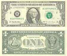 idée cadeau :1 billet américain (USA) de 1 DOLLAR- one US DOLLAR
