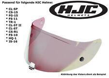 HJC visera hj-09 para cl-SP cs-15 fg-15 fs-11 tr1 cl-St II arco iris efecto espejo