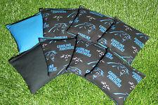 Cornhole Bean Bags Set of 8 ACA Regulation Bags CAROLINA PANTHERS Free Shipping!
