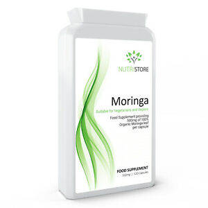 Moringa 500mg Rich in Vtamins 120 Capsules