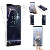 Hülle für Samsung Galaxy S8 S9/S9+ Note 8 Full Cover 360° Handy Schutz Slim Case