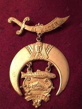 Masonic Badge AL KADAR PORTLAND OR.  maker A.& G. FELDENHEIMER Portland OR.